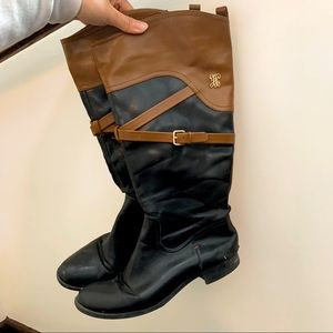 Tommy Hilfiger riding boots size 9M